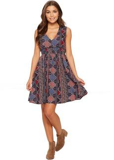 Roxy Angelic Grace Printed Dress