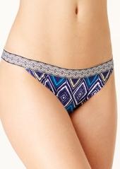 Roxy Band It Printed Cheeky Bikini Bottoms Women's Swimsuit