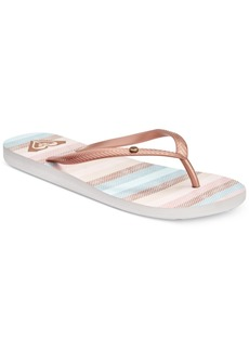 Roxy Bermuda Flip-Flop Sandals Women's Shoes