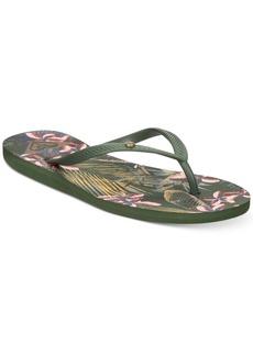 f38cc1f23fb7 Roxy Bermuda Flip-Flop Sandals Women s Shoes