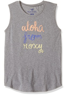 Roxy Big Girls' Aloha Muscle Tee  8