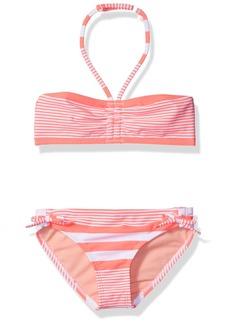 Roxy Big Girls' Dotsy Bandeau Set