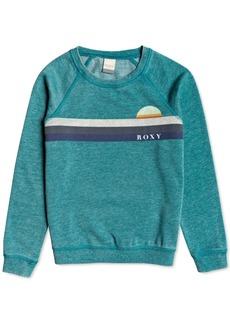 Roxy Big Girls Fleece Logo Top