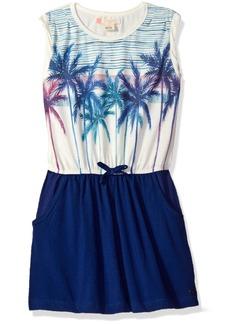 Roxy Big Girls' Presidio Palm Dress  8