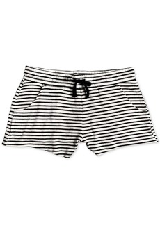 Roxy Big Girls Striped Fleece Shorts