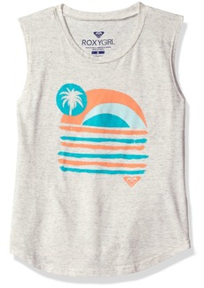 Roxy Big Girls' Sunday Sunset Youth Muscle Tank  16