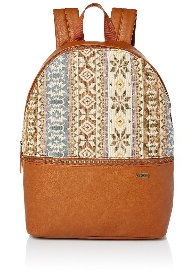 Roxy Black Ripped Handbag camel