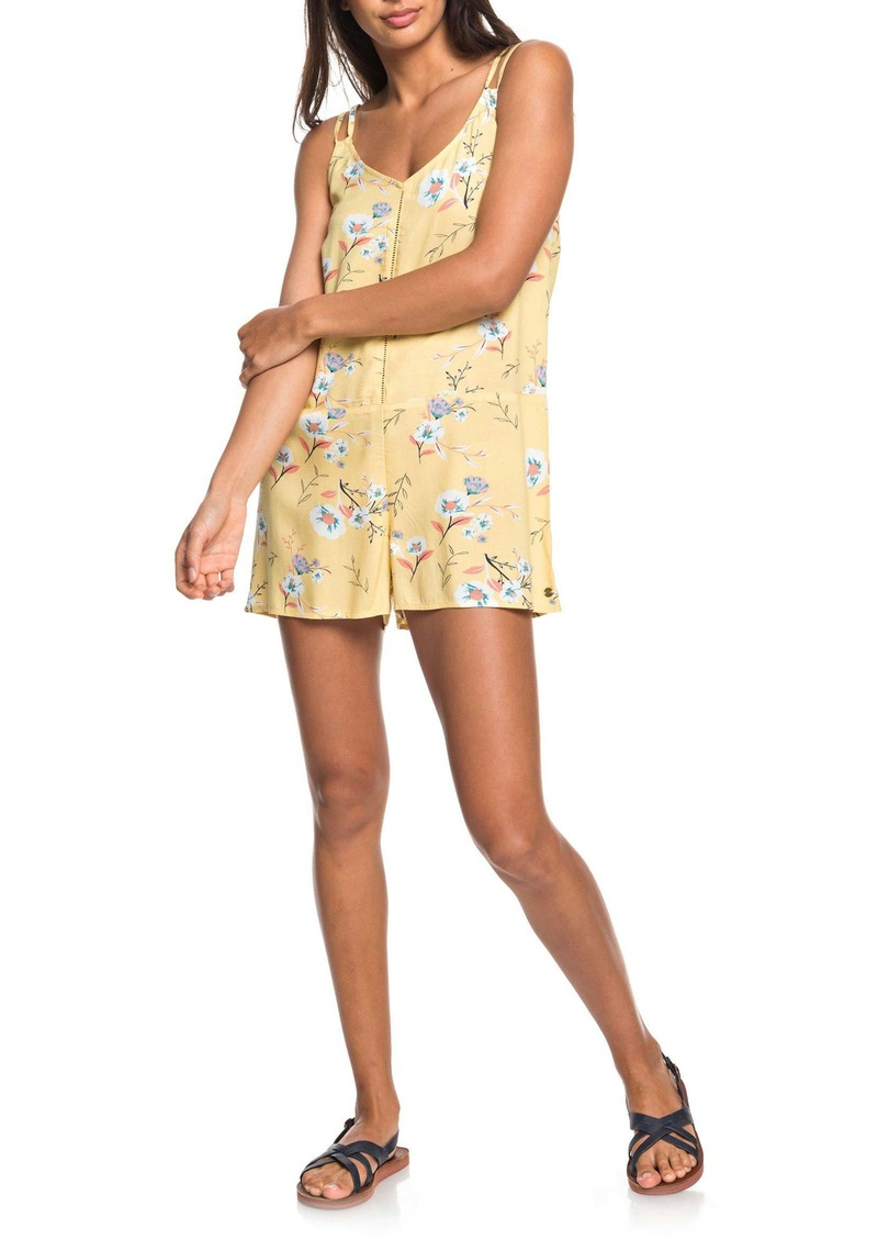 Roxy Blissing Me Floral Romper