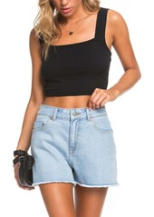 Roxy Blow Away Crop Sweater Tank