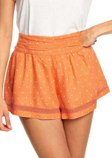 Roxy Boho Dreams High Waist Cotton Shorts