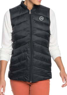 Roxy Coast Road Quilt Water-Repellent Vest