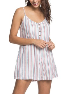 Roxy Coconut Sunshine Stripe Romper