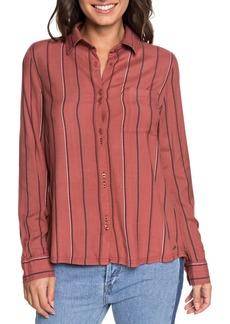 Roxy Concrete Streets Stripe Shirt