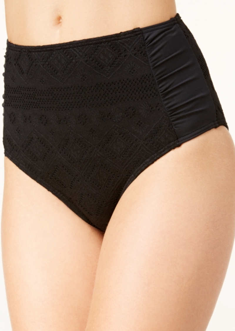 Roxy Cozy and Soft Crochet High-Waist Swim Bottoms Women's Swimsuit