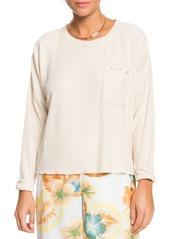 Roxy Cozy Day Crewneck Pullover