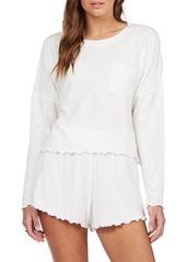 Roxy Cozy Day Ribbed Long Sleeve T-Shirt