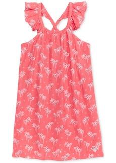 Roxy Cross-Back Printed Dress, Little Girls (2-6X)