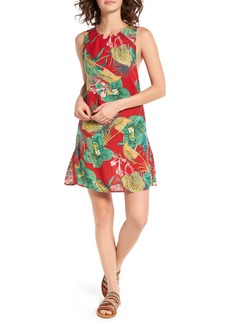 Roxy Cuba Print Shift Dress