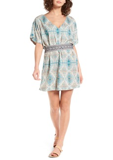 Roxy Delicate Embroidered Belt Dress