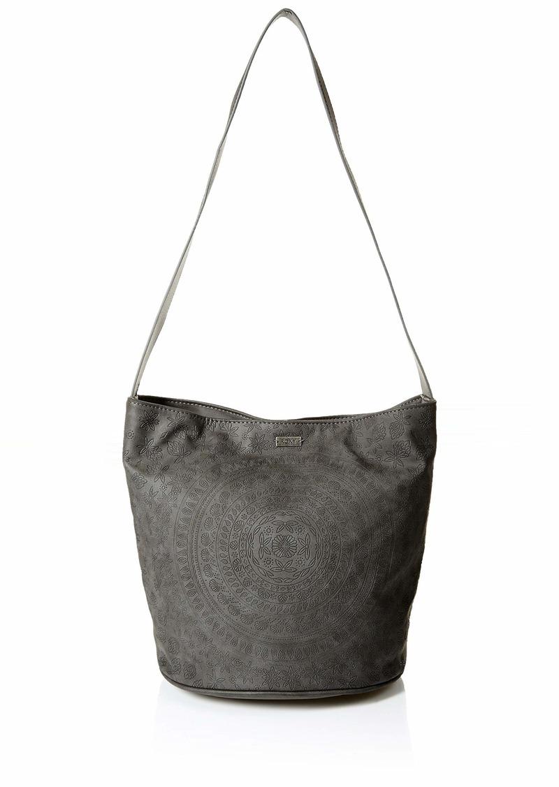 Roxy Desert Bloom Medium Crossbody Bag true black
