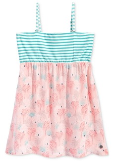 Roxy Don't Ever Let Her Go Strappy Multi-Print Dress, Toddler & Little Girls (2T-6X)