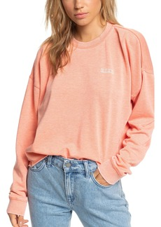 Roxy Dream Believer Crop Graphic Sweatshirt