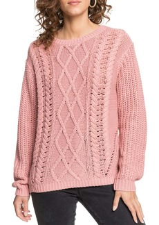 Roxy England Skies Cable Sweater