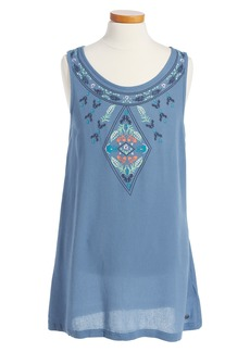 Roxy Everyone on a Run Embroidered Dress (Big Girls)