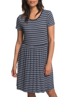 Roxy Fame For Glory Stripe T-Shirt Dress