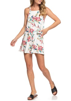 Roxy Favorite Song Popover Sleeveless Romper