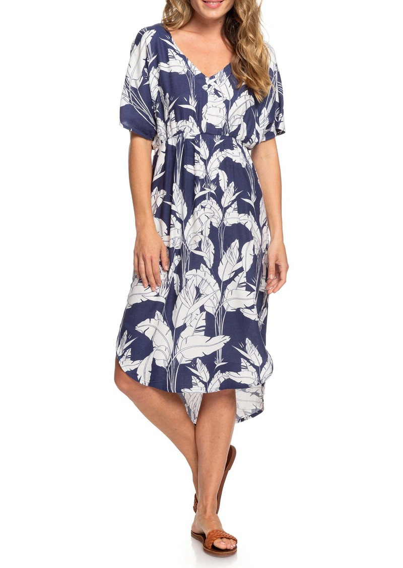 Roxy Flamingo Shades Print Dress