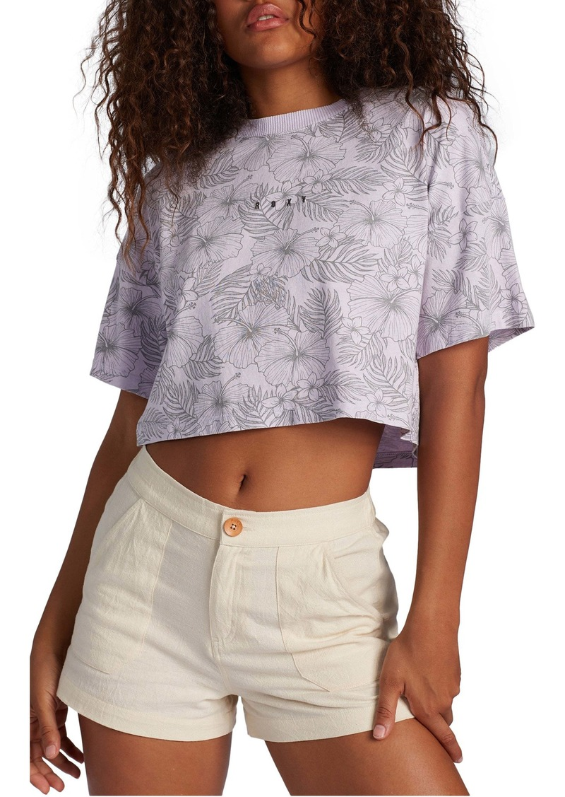 Roxy Floral Crop Top