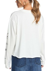 Roxy Fly Over the World Long Sleeve Graphic Tee