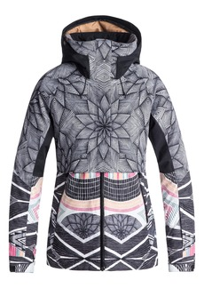Roxy Frozen Flow Hooded Ski Jacket