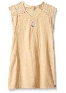 Roxy Girls' Big Dream Short Sleeve Dress  /M