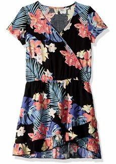 Roxy Girls Big Fantasy Short Sleeve Dress