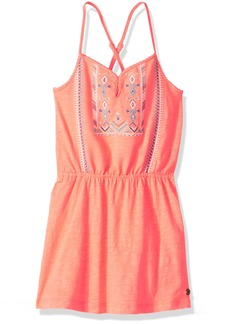 Roxy Girls' Big N'ice Cream Knit Dress  12