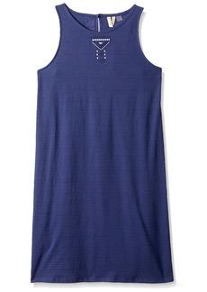Roxy Girls' Big Take me Back Dress deep Cobalt