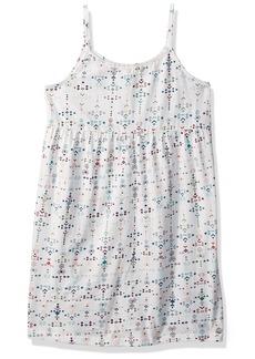 Roxy Girls' Little Higher Tank Dress Marshmallow AZAZ