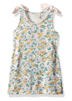 Roxy Girls' Little Light Out Tank Dress Marshmallow Floral camo