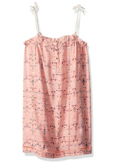 Roxy Girls' Little Soul Searching Tank Dress Peaches N Cream AZAZ