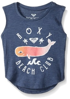 Roxy Girls' Toddler Beach Club Tank Top deep Cobalt