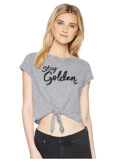 Roxy Golden Tie Tee