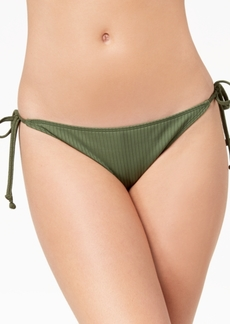 Roxy Goldy Sandy Ribbed Cheeky Bikini Bottoms Women's Swimsuit
