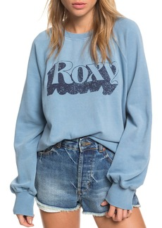 Roxy Goofy Foot Logo Sweatshirt