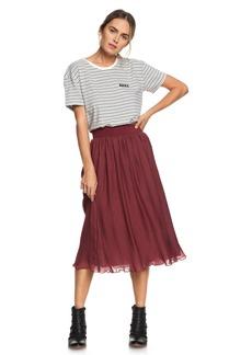 Roxy Green Canyon Midi Skirt