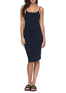 Roxy Happy New Way Body-Con Midi Dress