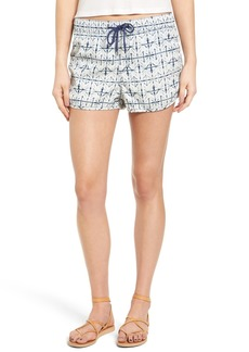 Roxy Here She Comes Print Shorts