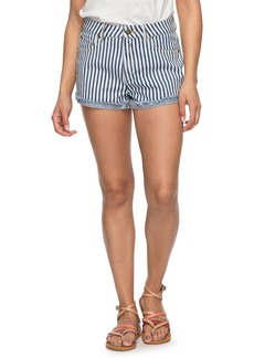 Roxy Holbrook Stripe Cotton Shorts