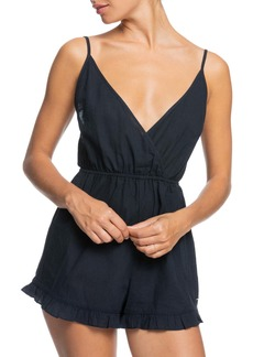 Roxy Honest Love Solid Cover-Up Romper